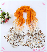 Fashion autumn long polyester voile scarf women scarf factory