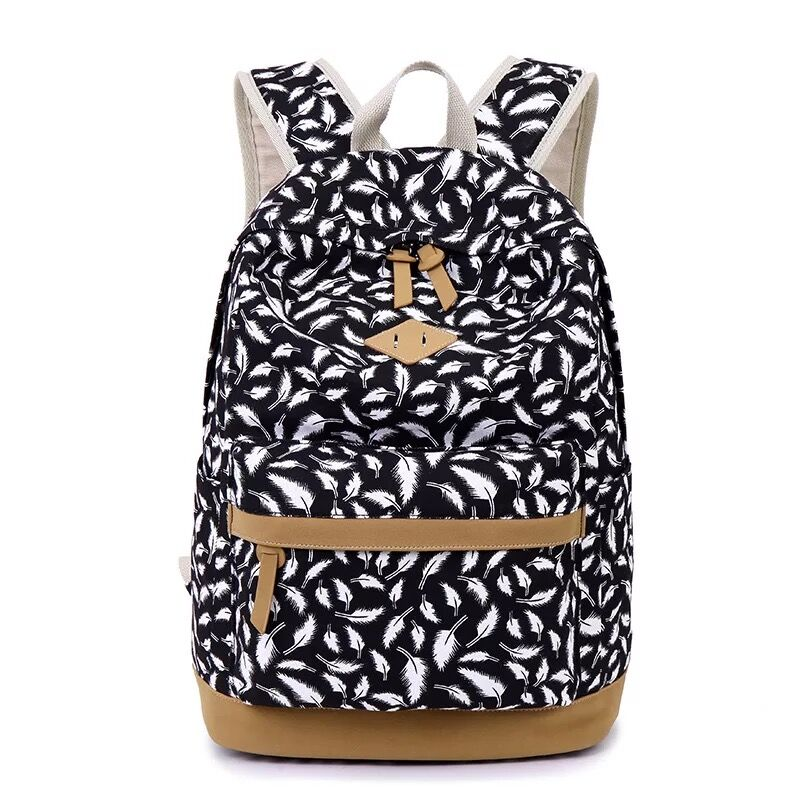 Good quality canvas laptop backpack for sale