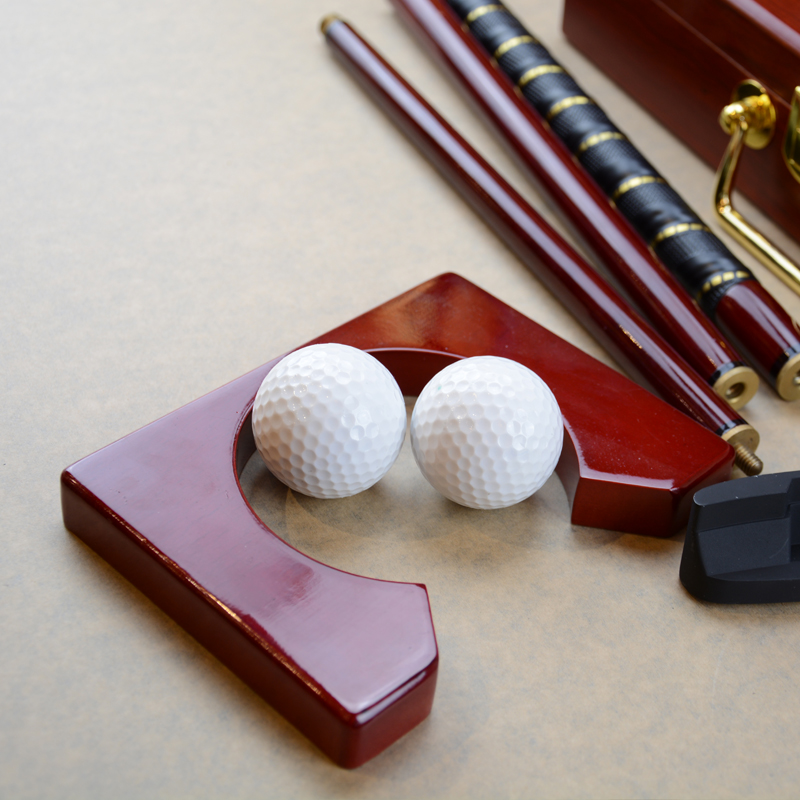 wooden case golf putter training set Golf Putter set ,Golf gift set ,Mini golf putter set