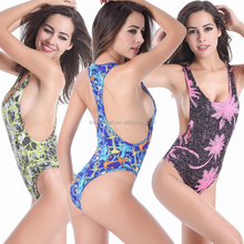 Sexy Cut Out Raceback High Cut One Piece swmsuit women
