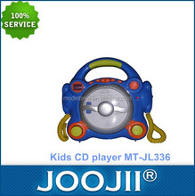 anak-anak cd player dengan stereo portabel speaker dinamis