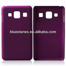 Hard Case Snap On Phone Cover Purple Rubberized Accessory For samsung galaxy S4 i9500