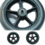 OEM Customize logo PU foam filling tire stroller rubber wheels