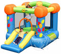 happy hop Inflatable bounce-9070Y Party Slide and Hoop Bouncer