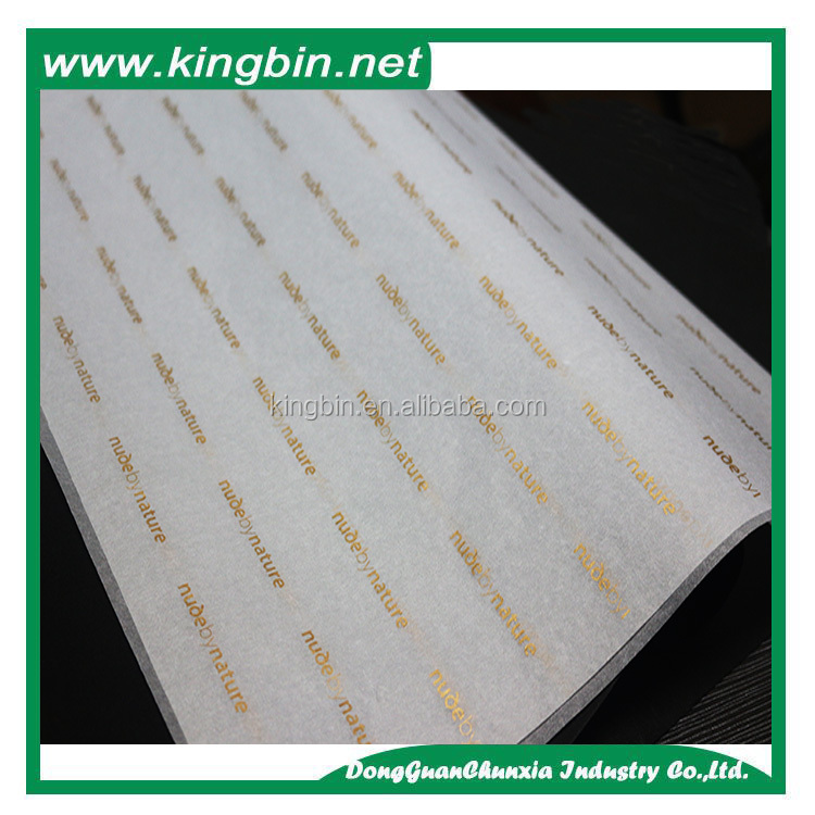 Free Sample Special logo high grade metallic gold/silver color custom printing wrap tissue paper