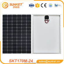 The factory price and high quality of 170w mono solar panel module for home use