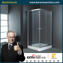 China shower cubicles factory bath shower screens supplier