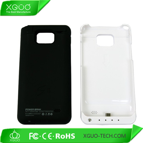 2000mah battery charger case for samsung galaxy s2