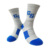 Wholesale custom design sport running tennis socks