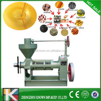 Small sunflower seed oil press cooking oil making machine