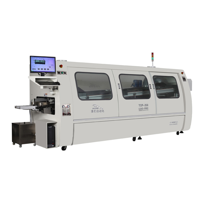 THC Lead-free wave soldering machine for PCB max width 35cm
