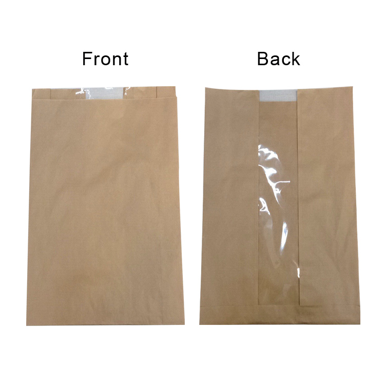 High Quality Kraft Paper Bag Wholesale Toast Bread food packing