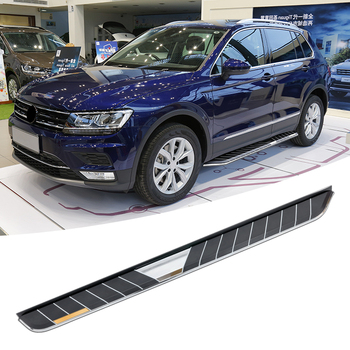 Wholesale & resale customized 2014 to 2017 Volkswagen Tiguan running board for VW side step nerf bar
