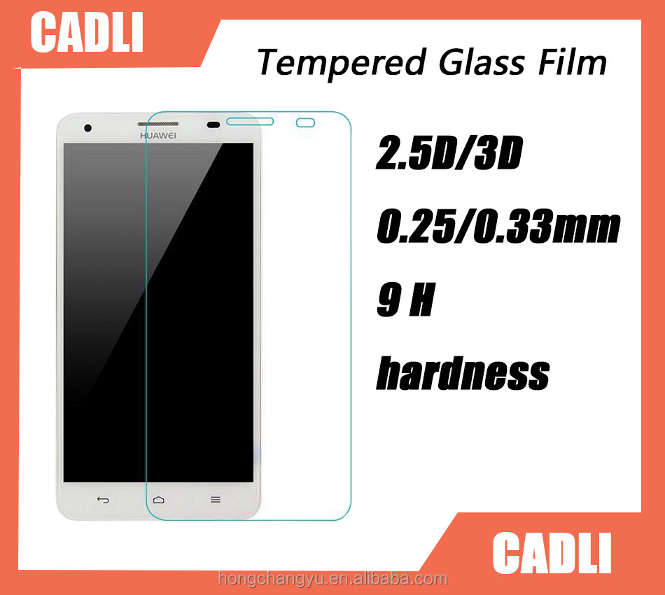 New arrival protector guard for HUAWEI G750 9H hardness Tempered glass screen protector