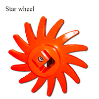 Agricultural industrial polyurethane screening process High mechanical strength star wheel