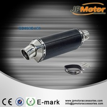 JPM Universal 51mm carbon fiber Motorcycle Exhaust Muffler Silencer Slip On With DB Killer 250cc accesorios para motos