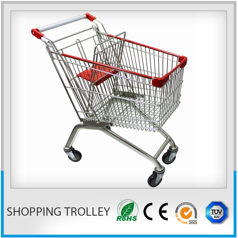 shopping cart car/electric shopping cart trolley/pull carts for shopping