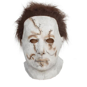 Mike Meyer head latex mask Halloween mask head costume rubber halloween fashion party mask from the movie Halloween