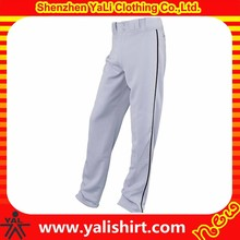 2015 high quality breathable elastic waist polyester sportswear baseball pants
