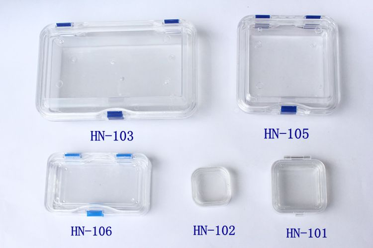 Transparent Membrane Denture Jewellery Storage Packing Box With Lids