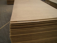 melamine coated mdf/ fire rated mdf board/ mdf partition