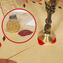 Metal Handle Personalized embossing Wax Seal Stamp