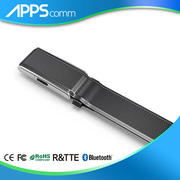New GPS high quality Men's leather auto smart belt AGPS/LBS positioning SOS