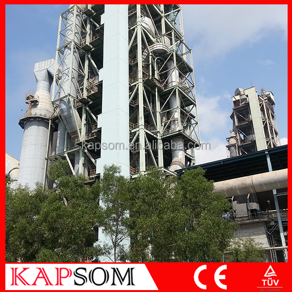 High Quality 500TPD VSK Cement Plant