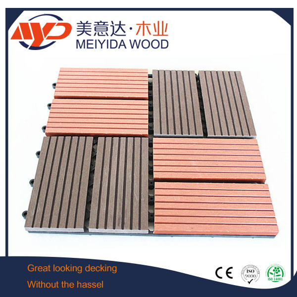 easy install WPC DIY decking tile
