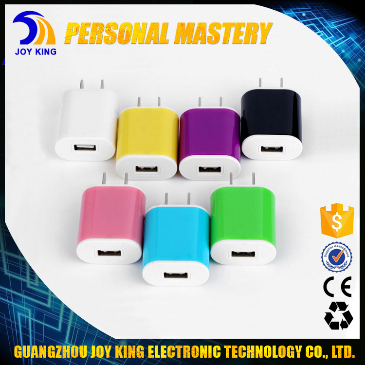Universal 5V 2A USB Power Adapter Portable Cell Phone Charger Fit For Samsung All Mode Mobile Phone JKUC17
