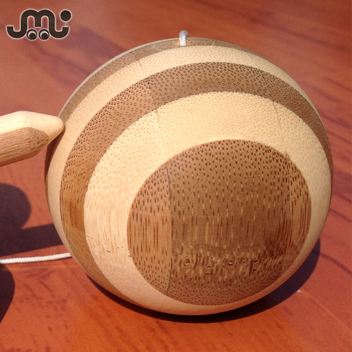 Special design dulex toy bamboo stick handling ball