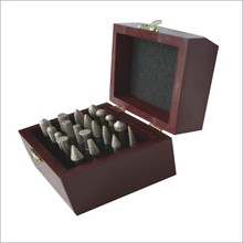china supplier Diamond mounted points with wooden box
