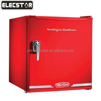 with CE/UL, 46L to 128L counter top mini fridge/ single door home refrigerator/ retro small refrigerator