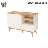 wooden furniture living room mini storage drawers display cabinet C881
