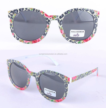 Sungeras custom made in china oversize round wholesale designer replica italy design ce uv400 polar glare classic sunglasses