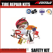 Customize Safety universal mini car emergency first aid kit with toolbag AM809-YS-QZH21