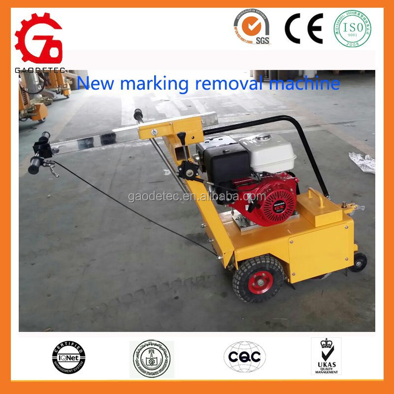 2016 New design with high performance thermoplastic road marking cleaning machine