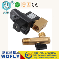 Automatic Electronic Timed Air Compressor Tank drain valve