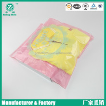 OEM cute beautiful double zip lock bag