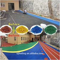 Water and heat resistance EPDM rubber granules for outdoor playground/kindergarten ground-FN-A-16070803