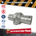 flexible quick fire hose coupling with various types