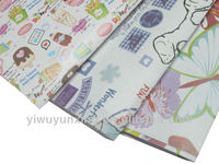 2013 hot sale christmas gift wrapping paper happy design