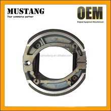 Best Selling Motorcycle Spare Parts Brake Shoe For JD100