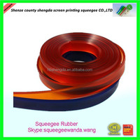 wholesale durable 100% PU squeegee rubber blade for screen printing industry