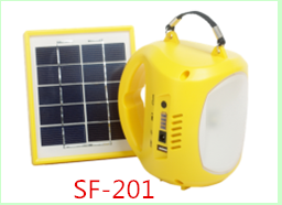 Top supply Solar Light solar lantern solar lamp with AC/DC adapter