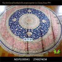 Great collection value handmade silk change color carpet four season design