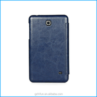 PU leather folio case for samsung galaxy tab 4 7.0-Dark blue