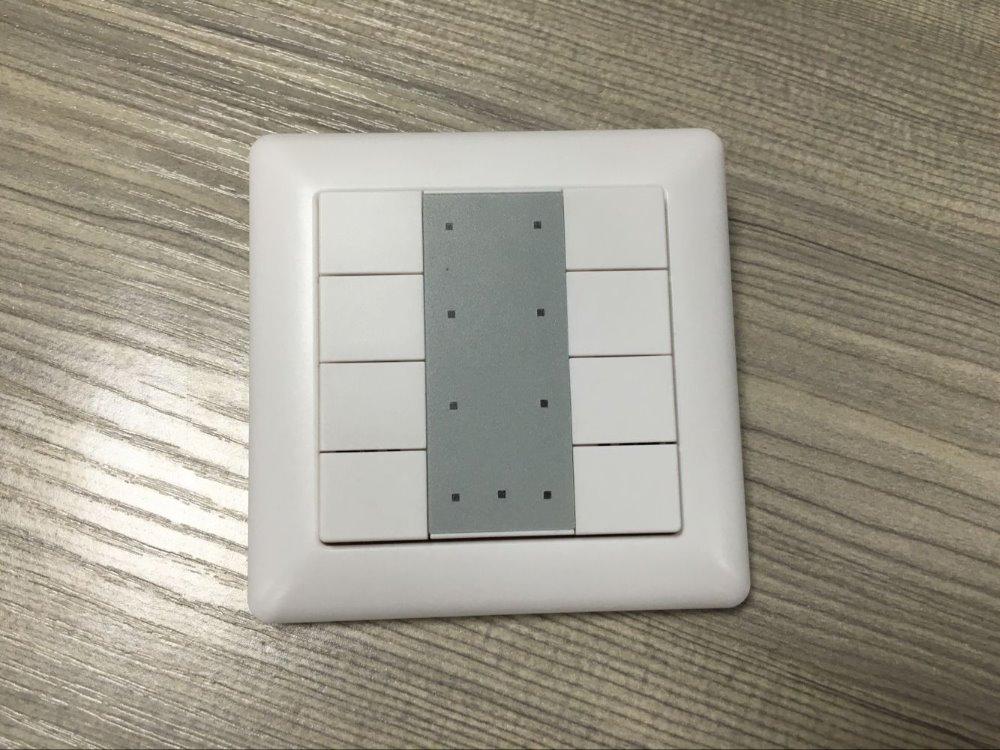 pared interruptor de control remoto dom tica knx bei sr kn9550k8 regulador de intensidad. Black Bedroom Furniture Sets. Home Design Ideas