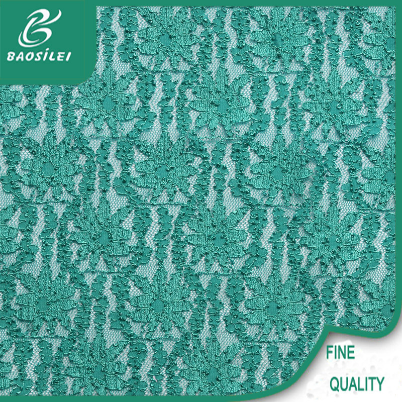 top one Wholesale indian net lace fabric/cord organza lace /teal lace fabric for garment