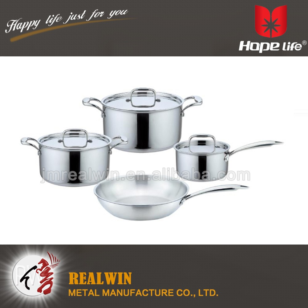 Metal kitchenware and cookware pot wholesale cookware